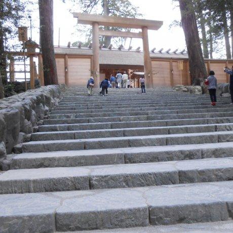Святой синтоистский храм Исэ Дзингу