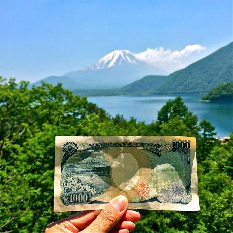 Фотографии озера Мотосу у подножия Фудзи