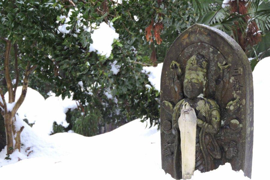 Тайтёдзи. Снег и Богиня милосердия