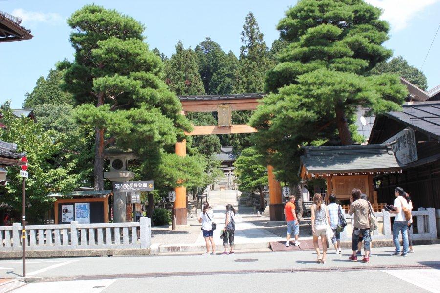 Прогулка по городу Такаяма