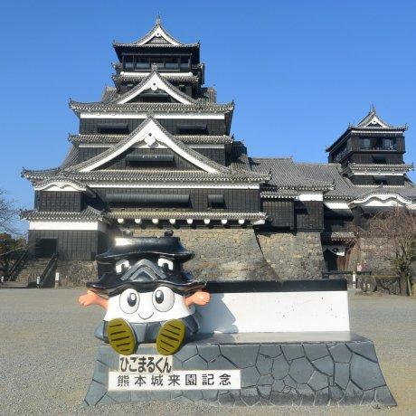 Исследуя замок Кумамото