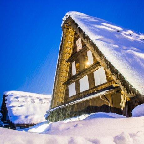Сказочный зимний тур: Ширакава-Го