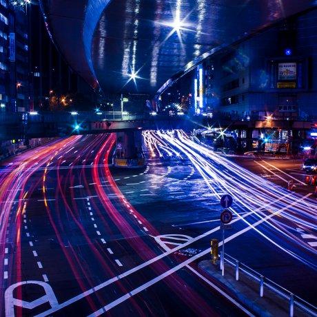Ночной фото-тур по Токио