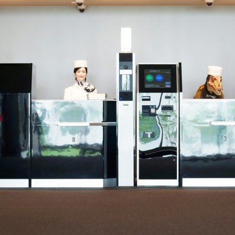 Отель роботов открылся в Японии