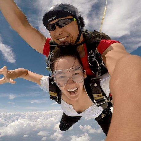 Прыжок с парашютом в Японии