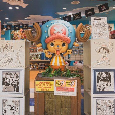 Магазинчик One Piece Mugiwara в Токио