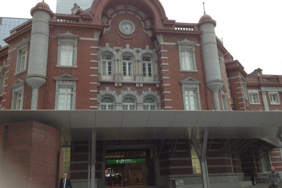 Станция железнодорожного вокзала Токио