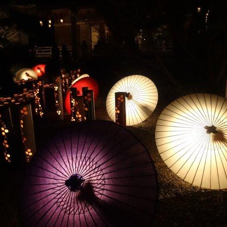 Фестиваль фонариков в Ямаге