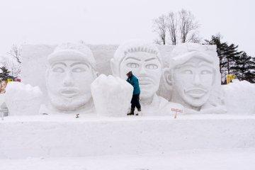 Снежный фестиваль в Иватэ