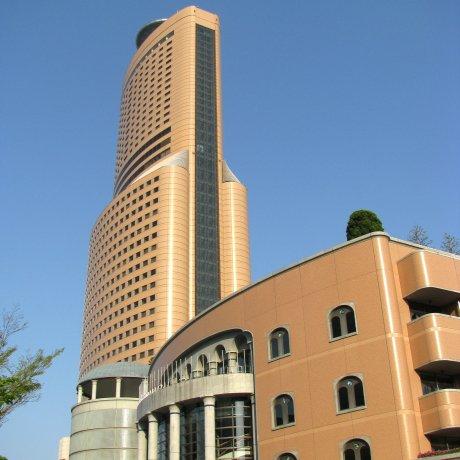 Город Хамамацу с высоты