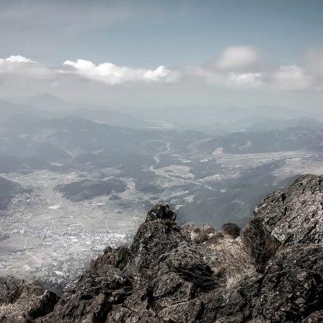 Прогулка по горе Юфудакэ