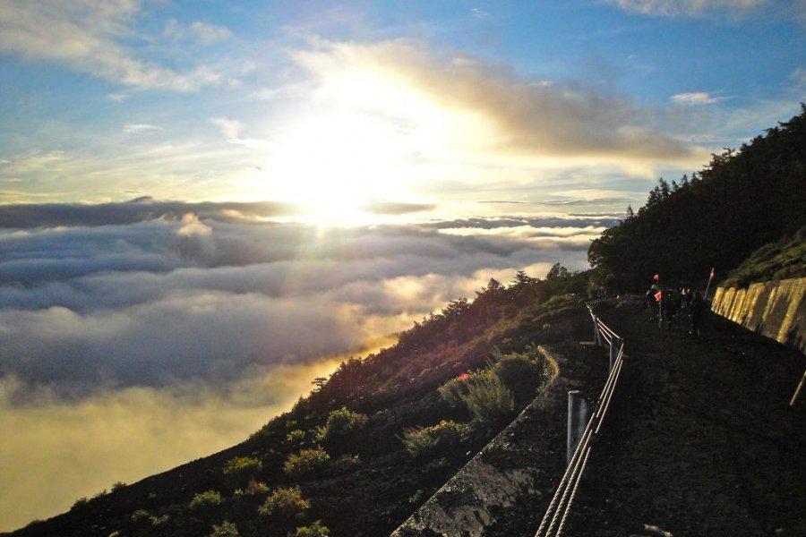 Гора Фудзи: восхождение длиной в день