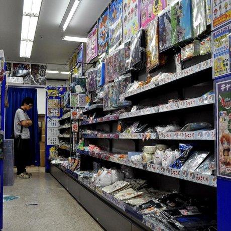 Аниме магазины Акихабары
