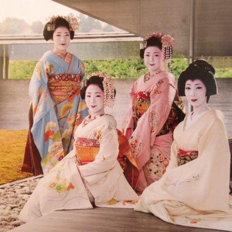 Весенний спектакль «Мияко Одори» в Киото