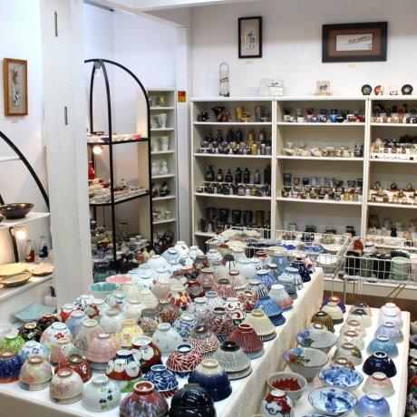 """Магазин керамики """"Фука"""" на острове Эносима"""