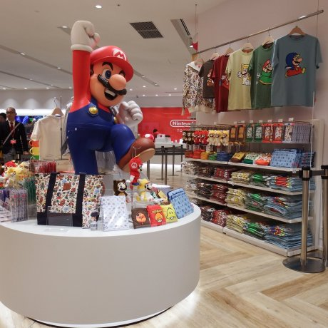 Nintendo TOKYO - первый официальный магазин Nintendo в Японии