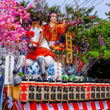 Осенний фестиваль в Мориоке