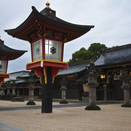 Святилище Мацубара в Сага